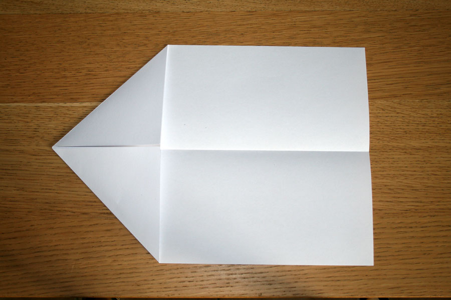 avion en papier pliage 4. Black Bedroom Furniture Sets. Home Design Ideas